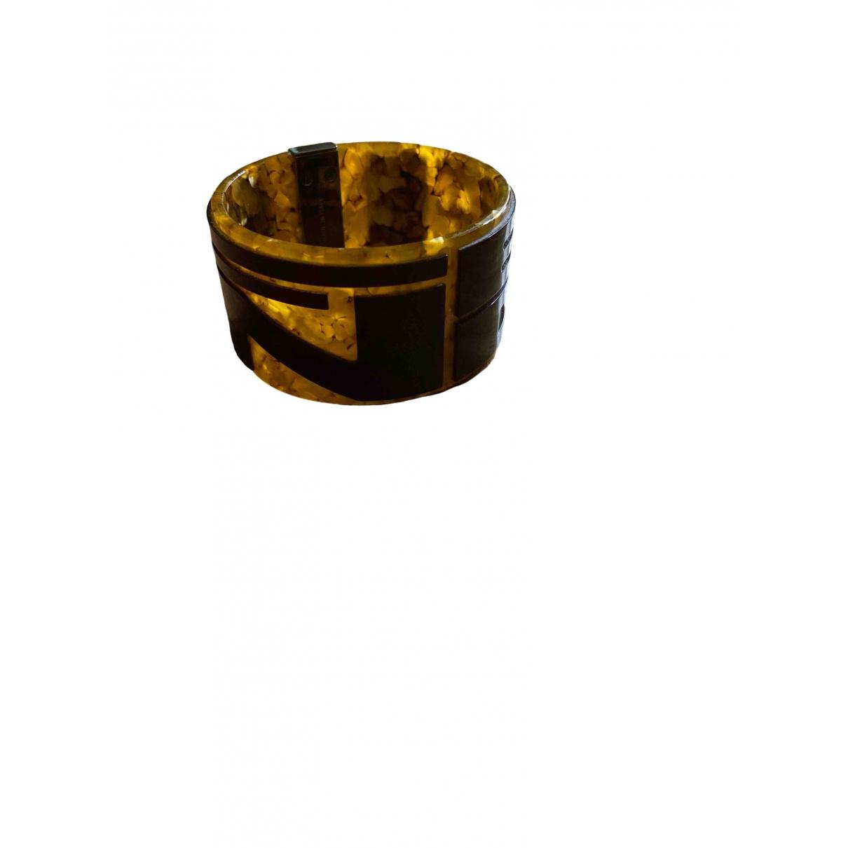 Fendi - Bracelet   pour femme en corne - marron