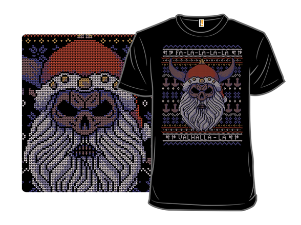 Viking Christmas T Shirt