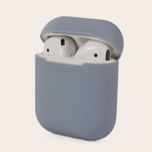 1 Stueck Einfarbiges Airpods Etui