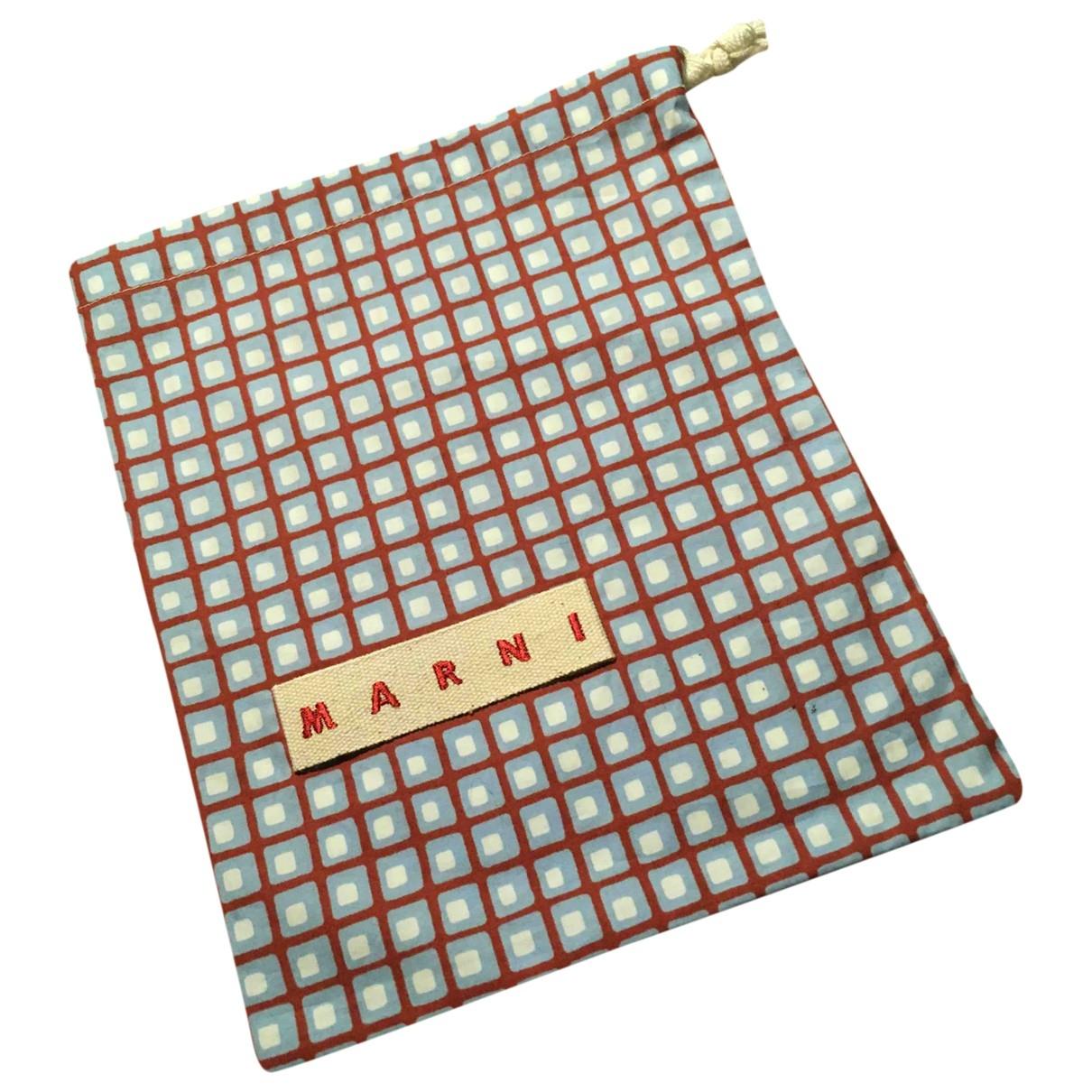 Marni \N Multicolour Cotton Clutch bag for Women \N