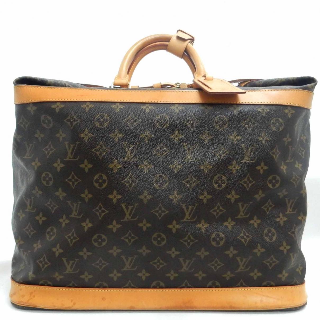 Louis Vuitton Cruiser Brown Cloth Travel bag for Women \N
