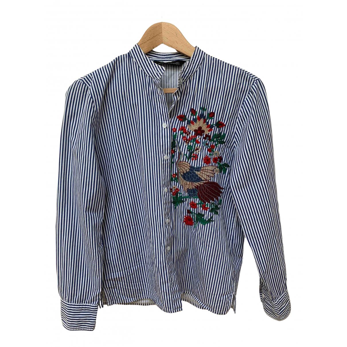 Zara \N Blue Cotton  top for Women S International
