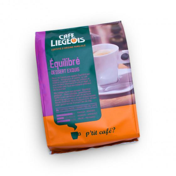 "Kaffeepads Cafe Liegeois ""Equilibre"", 36 Stk."