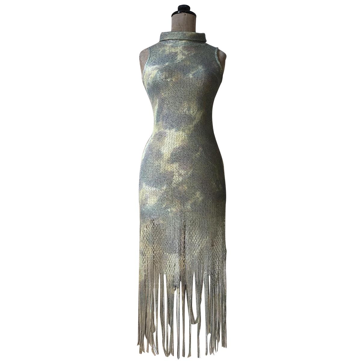 Romeo Gigli - Robe   pour femme en laine - vert