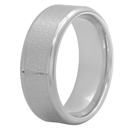 8MM Stainless Steel Band, 14 , No Color Family