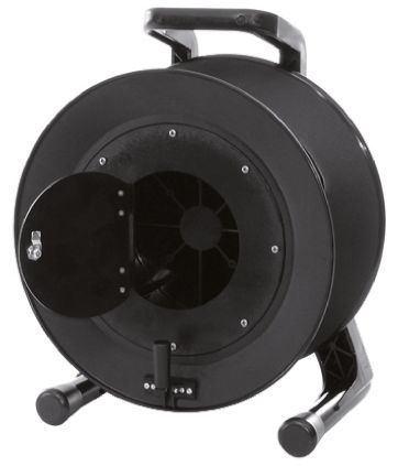 RS PRO Empty Cable Reel 491mm (H) x 291 mm (W) diameter 380mm 1 shelf in Rubber