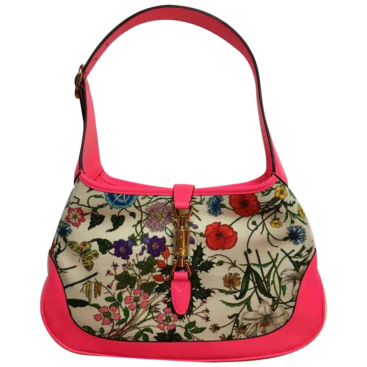 Gucci Jackie Pink Cloth handbag for Women N
