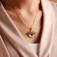 Halskette mit Augen Anhaenger