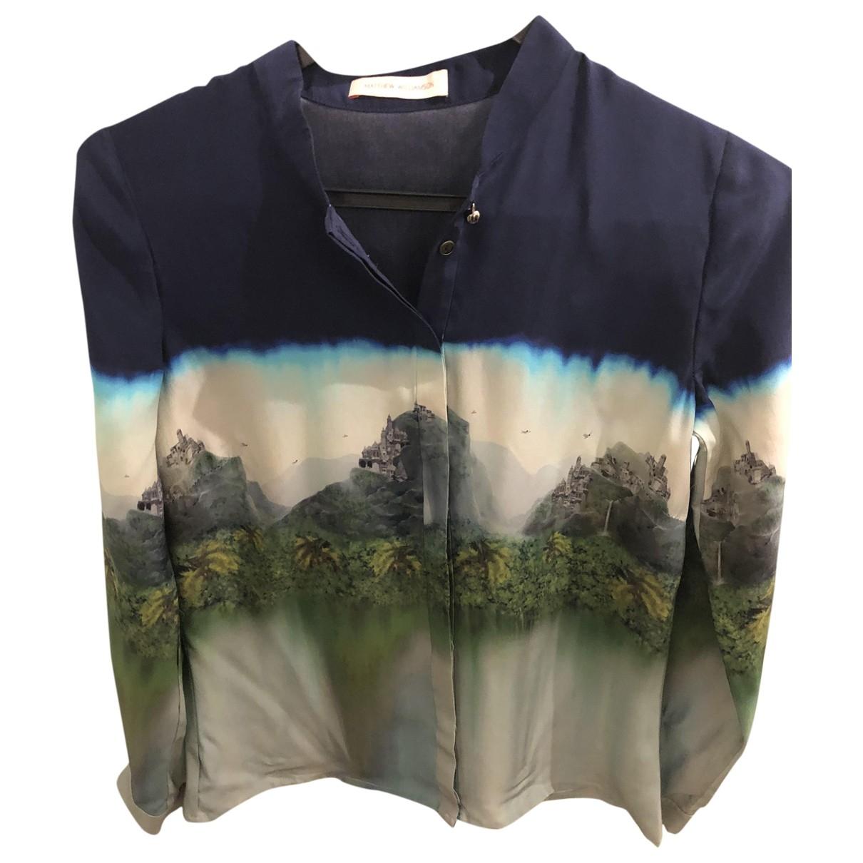 Matthew Williamson - Top   pour femme en soie - multicolore