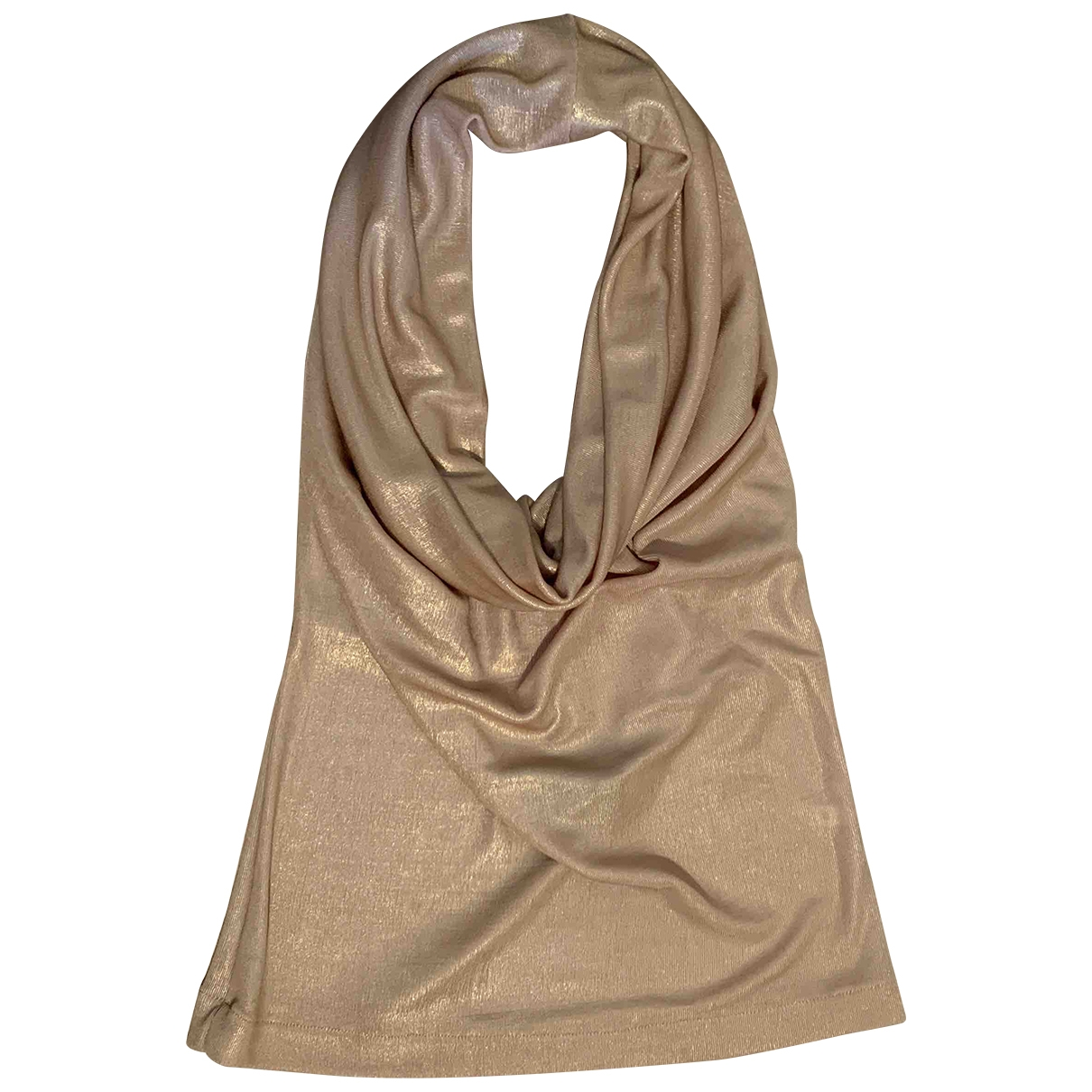 Patrizia Pepe \N Top in  Gold Polyester