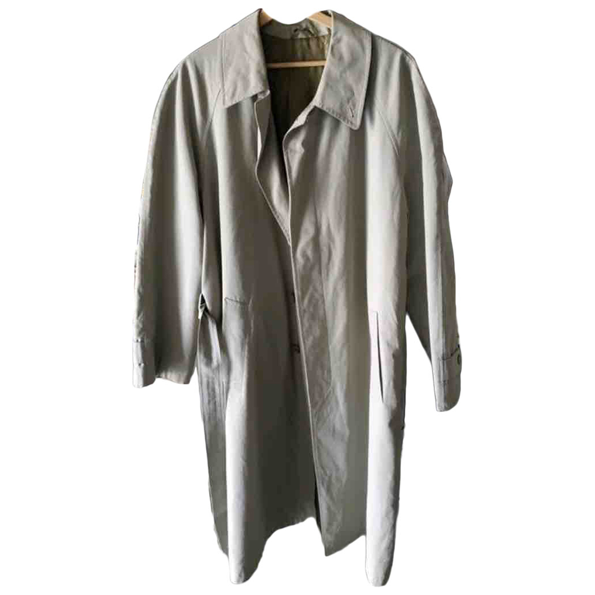 Dior - Manteau   pour homme en coton - beige