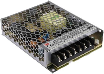 Mean Well , 102W Embedded Switch Mode Power Supply SMPS, 12V dc, Enclosed