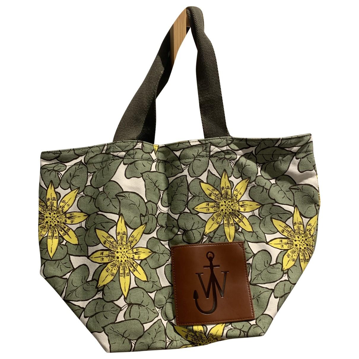 J.w. Anderson \N Green Cotton handbag for Women \N