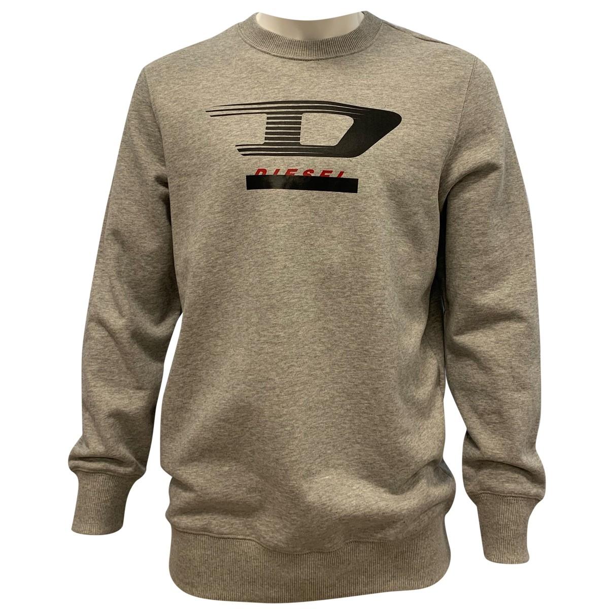 Diesel \N Grey Cotton Knitwear & Sweatshirts for Men XS International