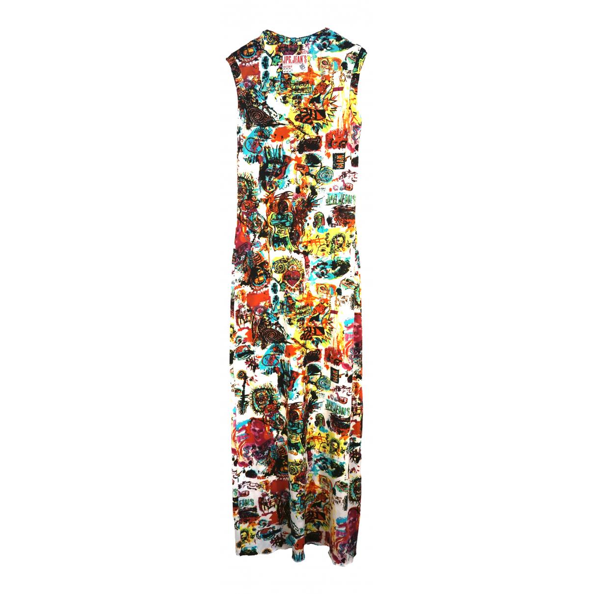 Jean Paul Gaultier \N Kleid in  Weiss Synthetik