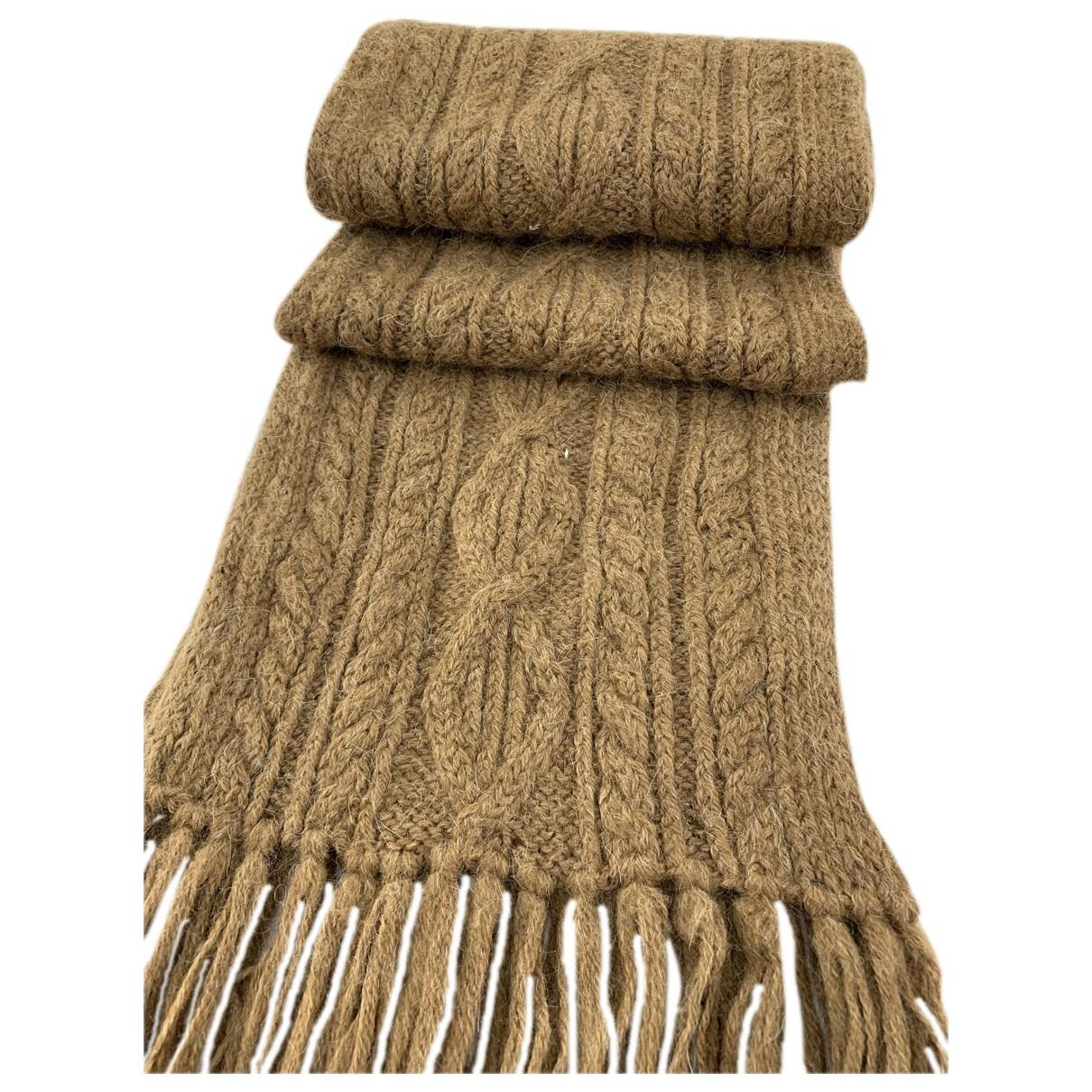 Issey Miyake \N Schal in  Braun Wolle