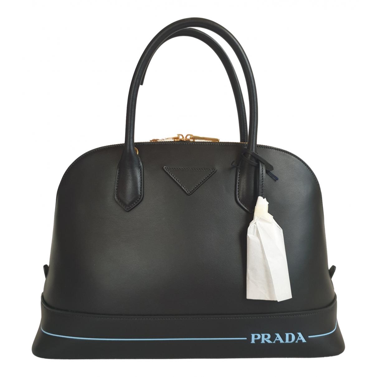 Prada Mirage Black Pony-style calfskin handbag for Women N