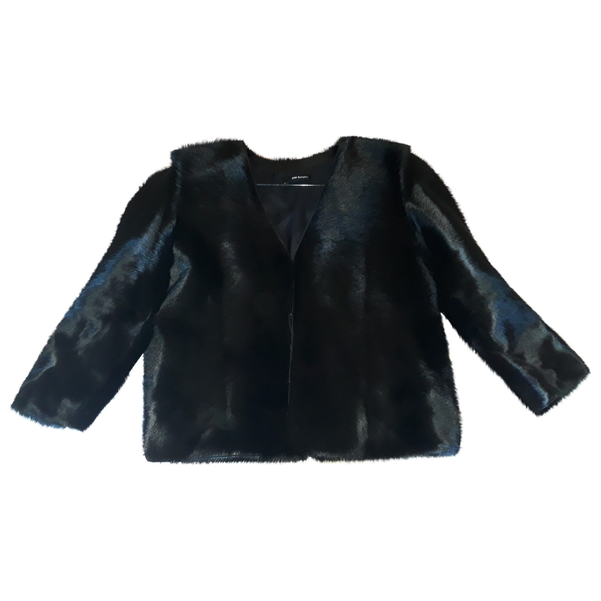 The Kooples \N Black Fur jacket for Women S International