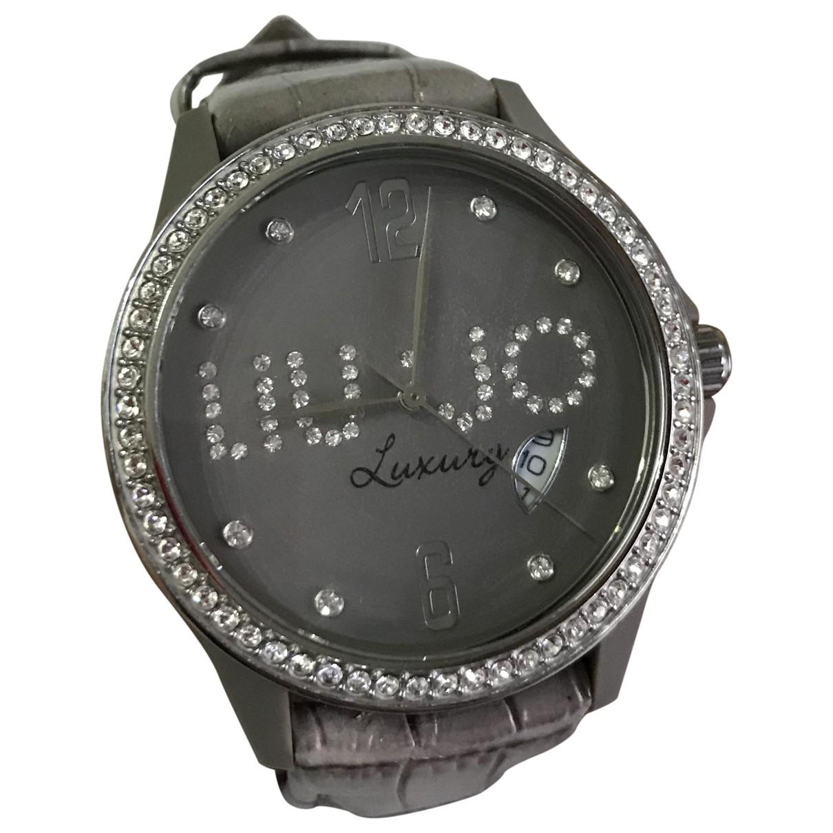 Liu.jo \N Beige Steel watch for Women \N