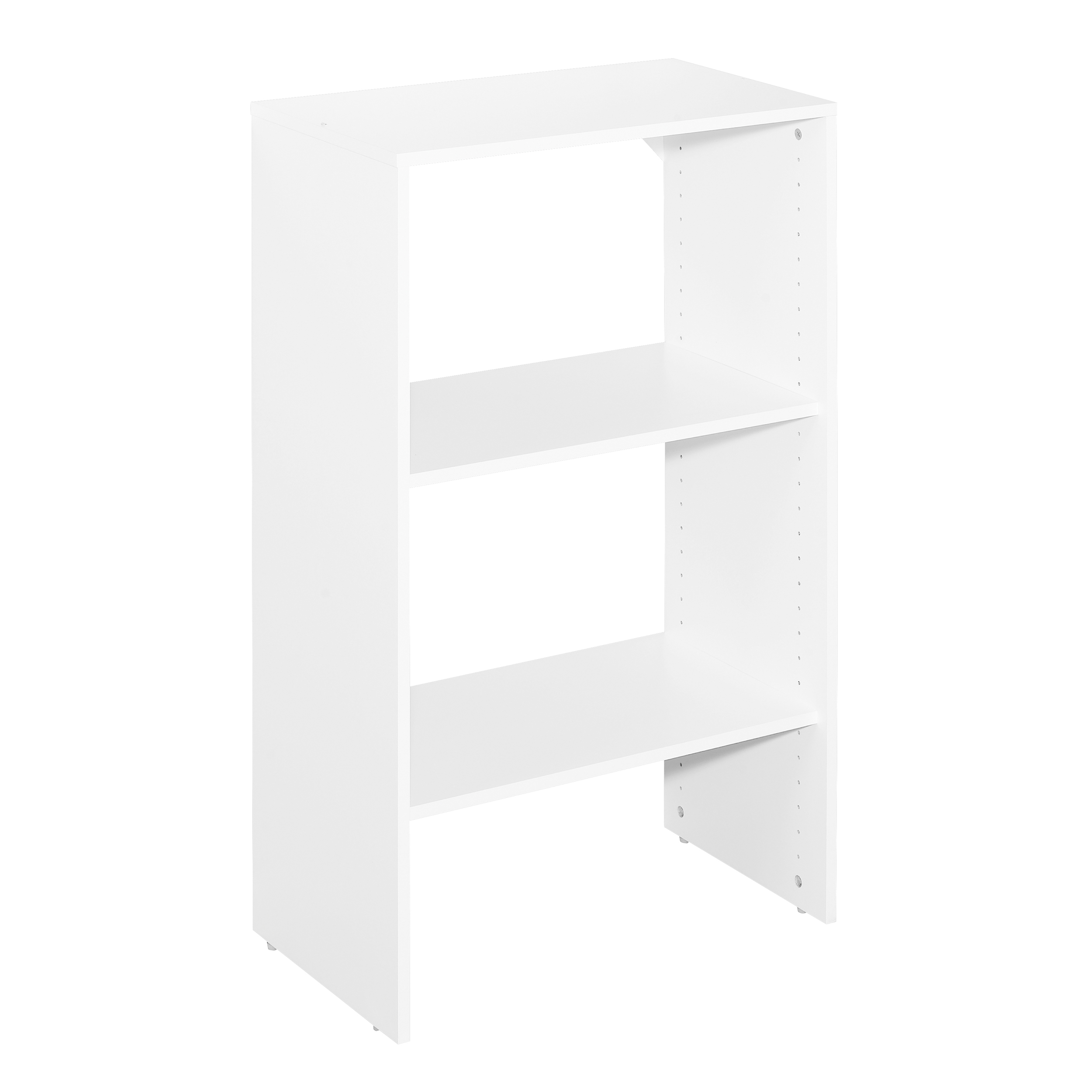 """SuiteSymphony 25"""" W Closet Tower Base, Pure White"""