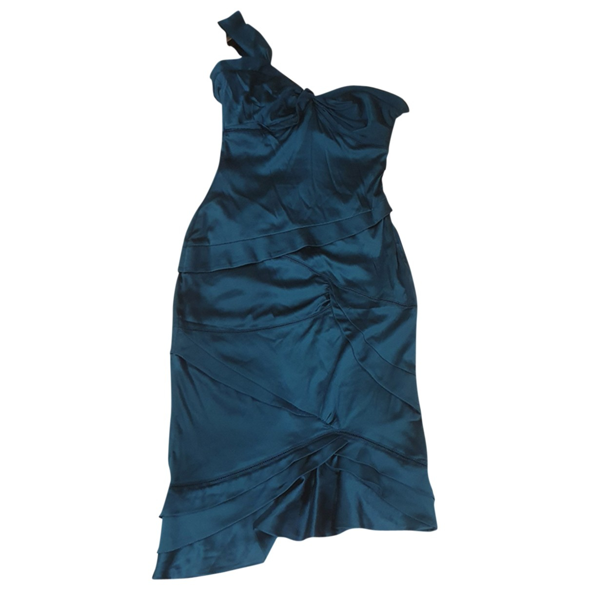 Gucci \N Green Silk dress for Women 42 IT