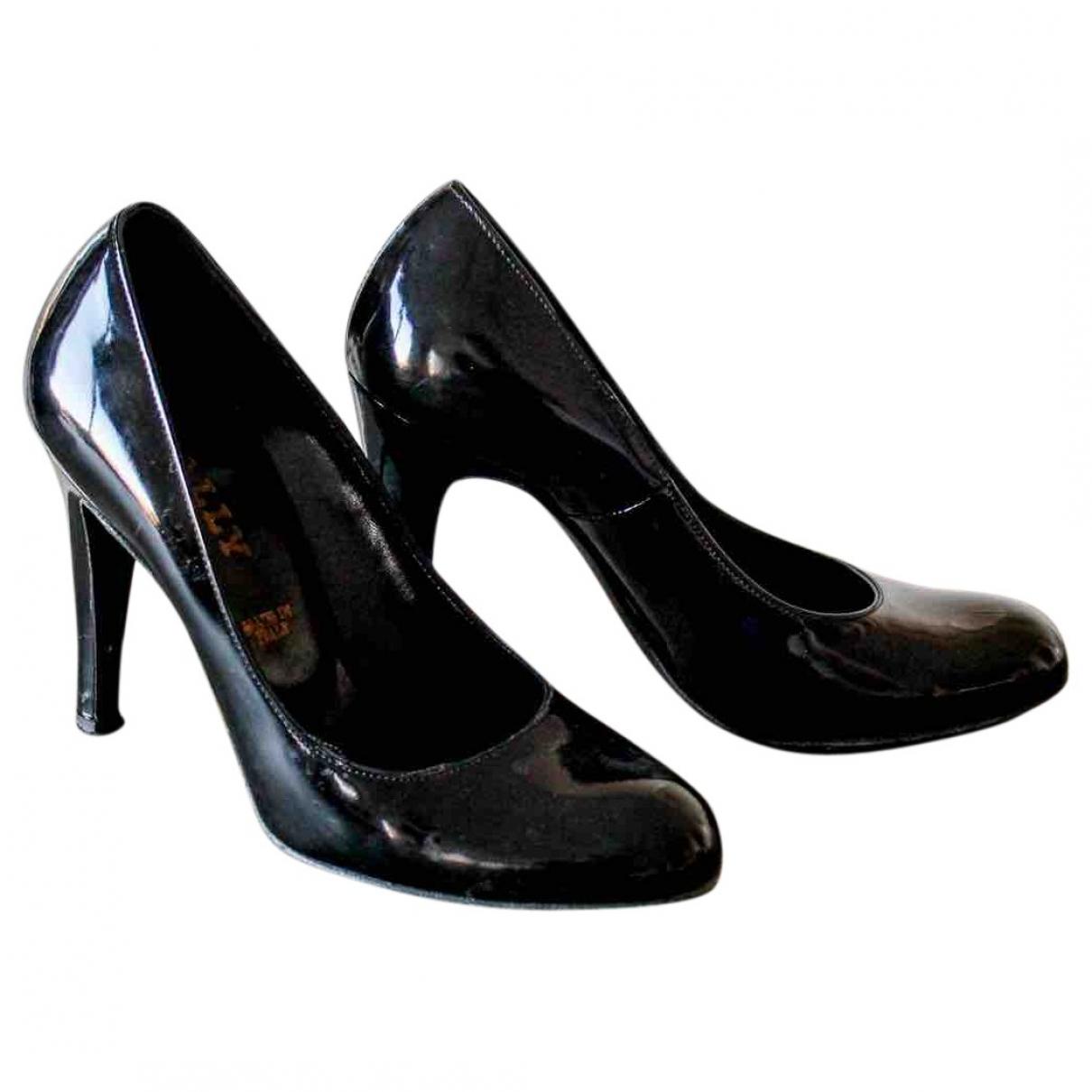 Bally - Escarpins   pour femme en cuir verni - noir