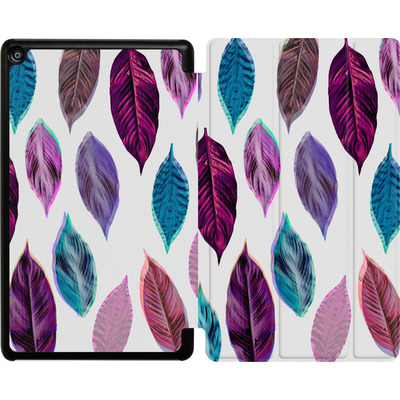 Amazon Fire HD 8 (2017) Tablet Smart Case - Pink Leaves 2 von Mareike Bohmer