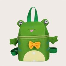 Kids Bow Decor Cartoon Design Backpack