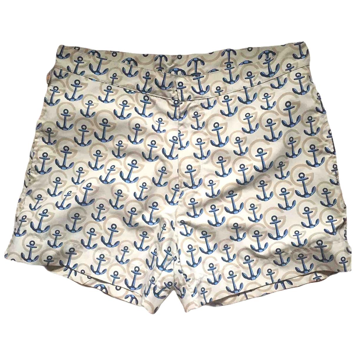 Gucci \N Badeanzug in  Beige Polyester