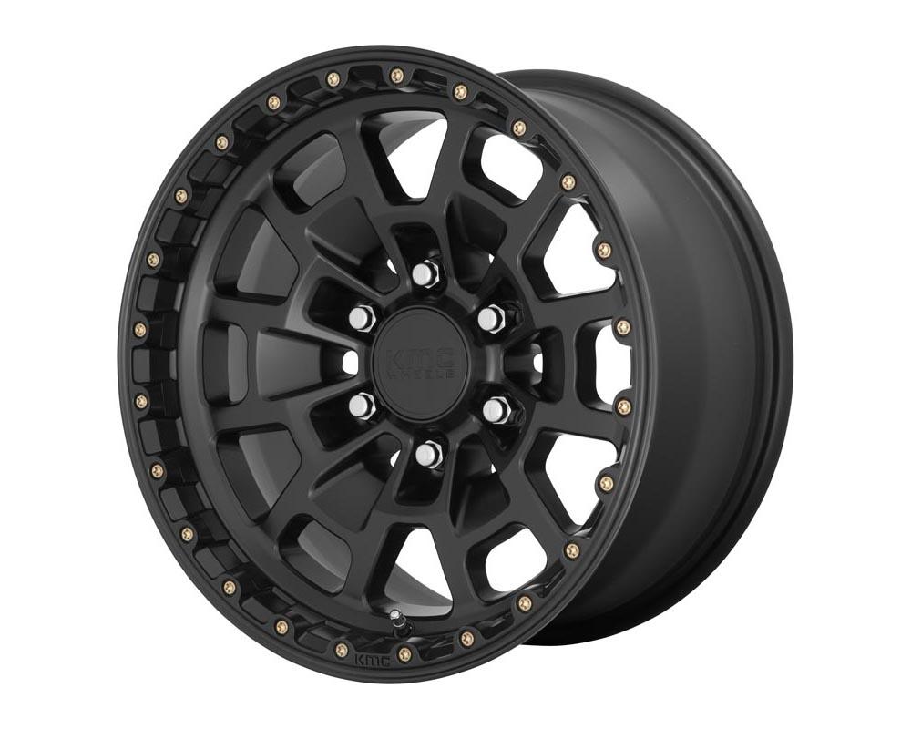 KMC Summit Wheel 17.00x8.50 6X5.5 18 Satin Black