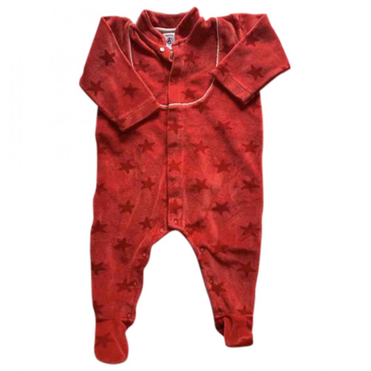 Petit Bateau - Les ensembles   pour enfant en coton - rouge