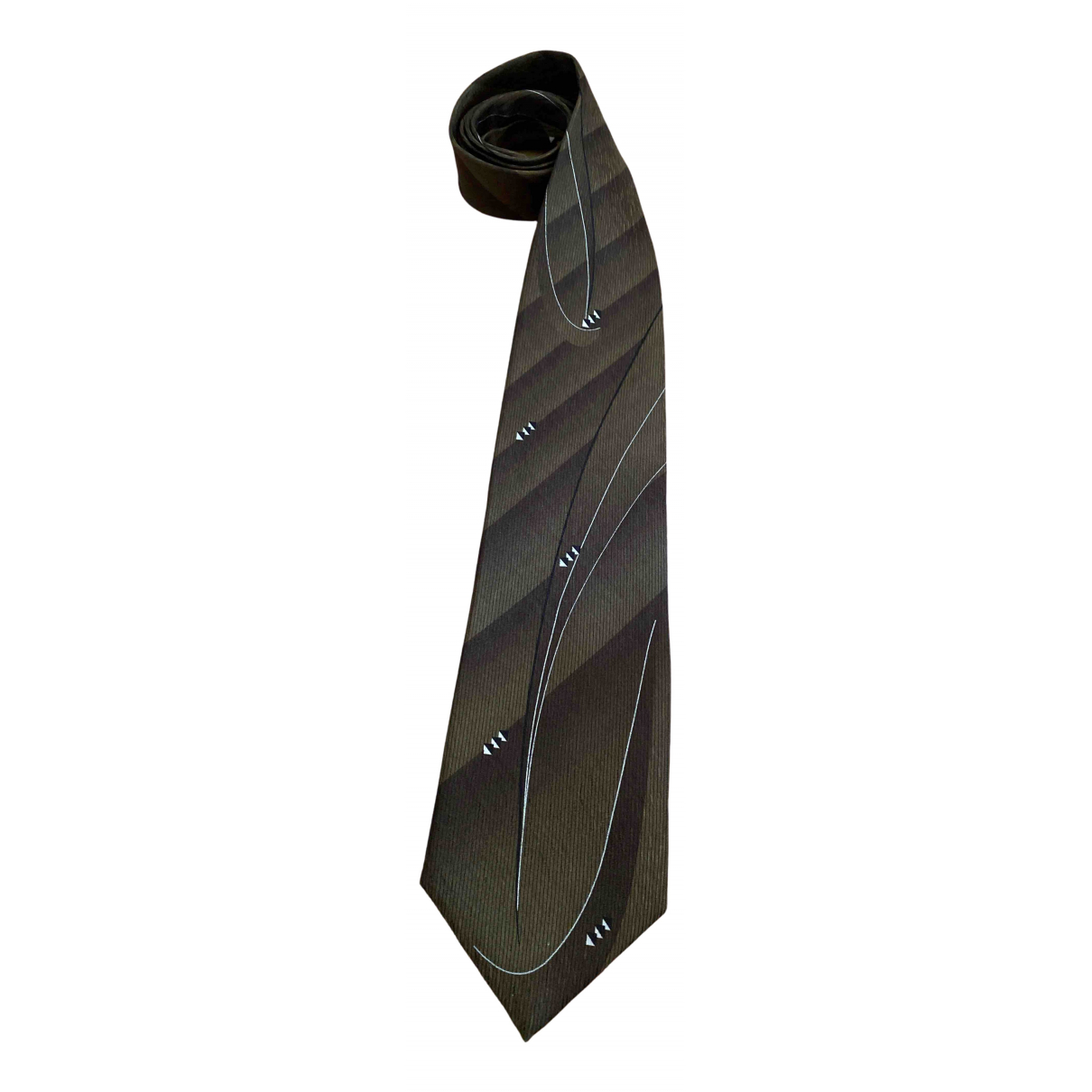 Givenchy \N Krawatten in  Gruen Seide