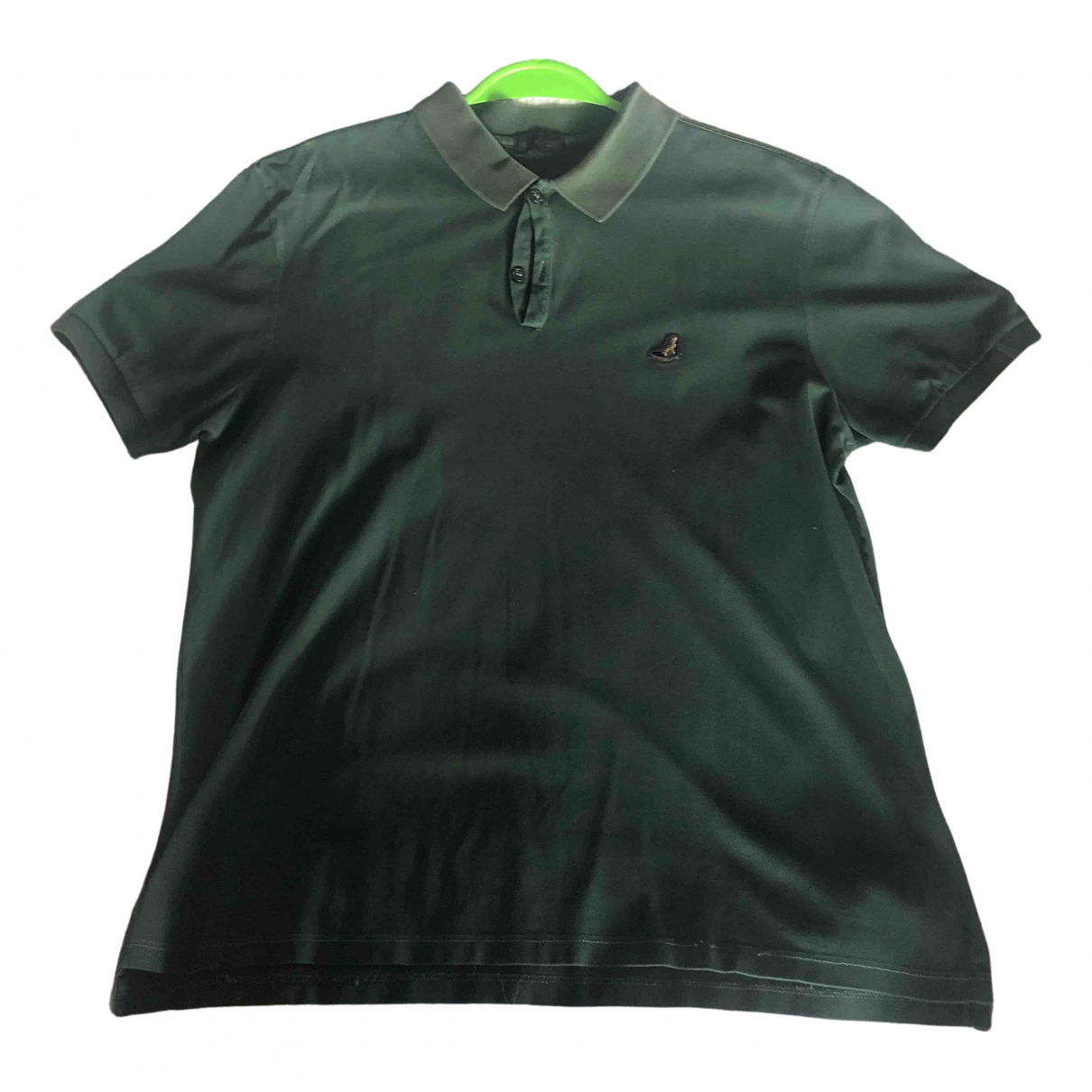 Lanvin - Polos   pour homme en coton - vert