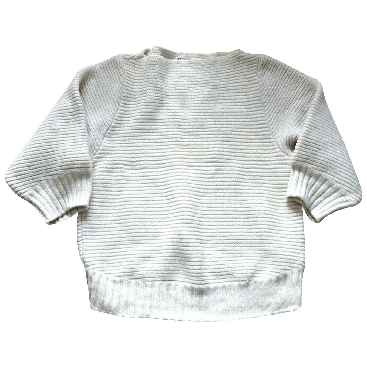 Chalayan - Pull   pour femme en laine - blanc