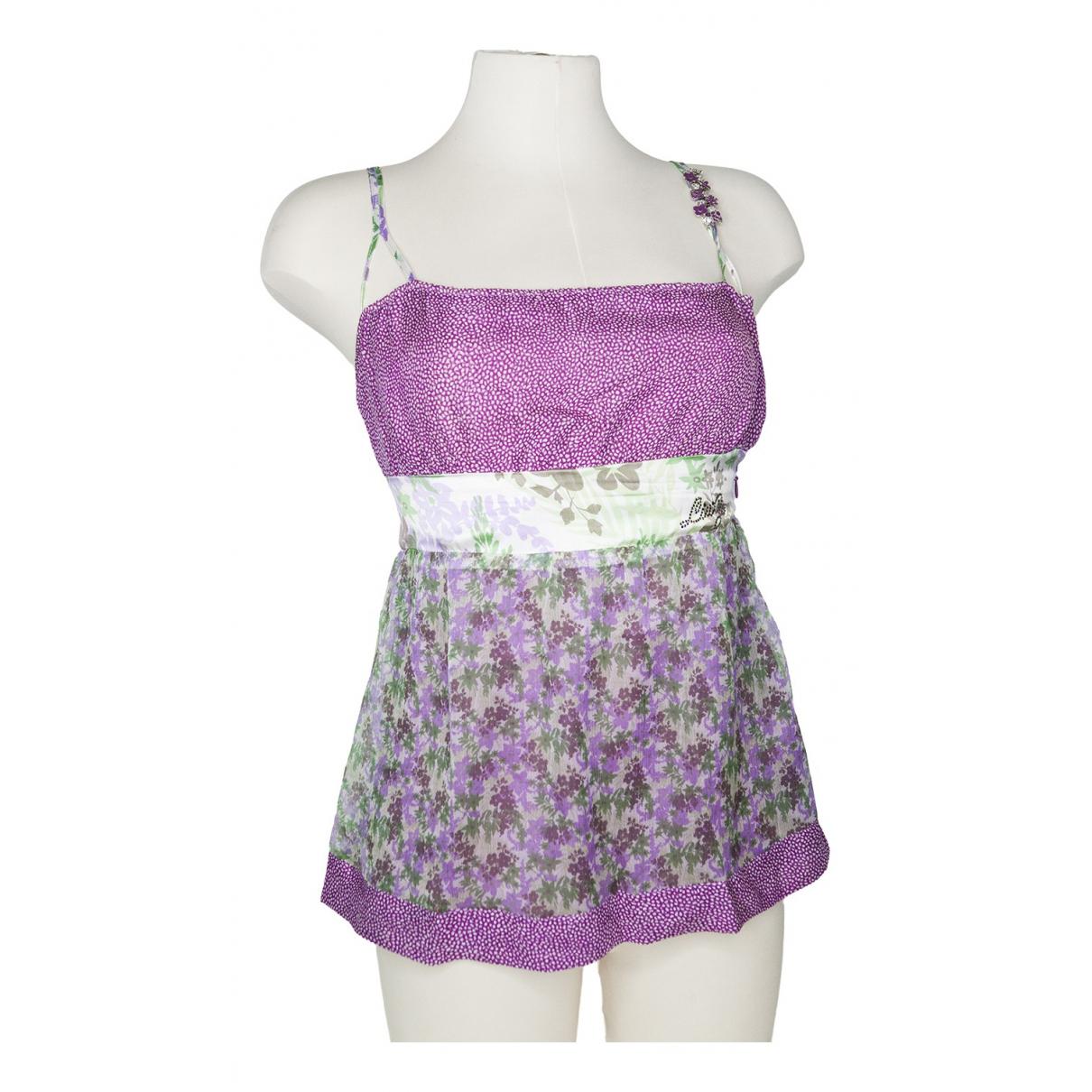 Liu.jo \N Purple Silk  top for Women 40 IT