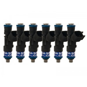 Fuel Injector Clinic IS168-0650H 650cc Injector Set (6 cyl, 53mm) (High-Z) Volkswagen