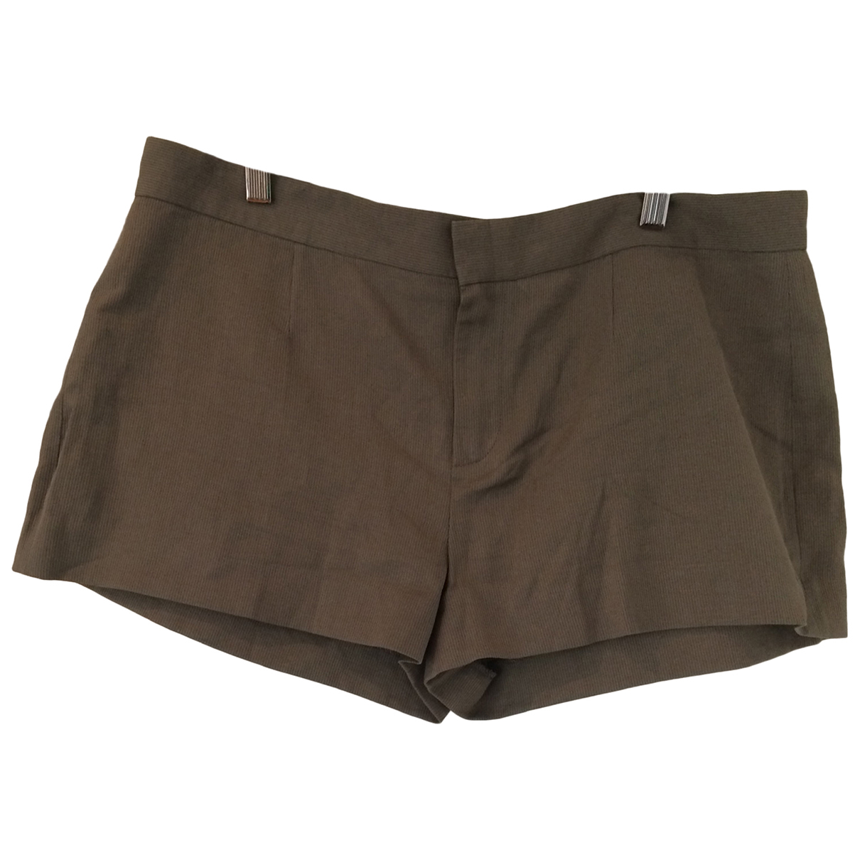 Vanessa Bruno \N Brown Cotton Shorts for Women 44 FR