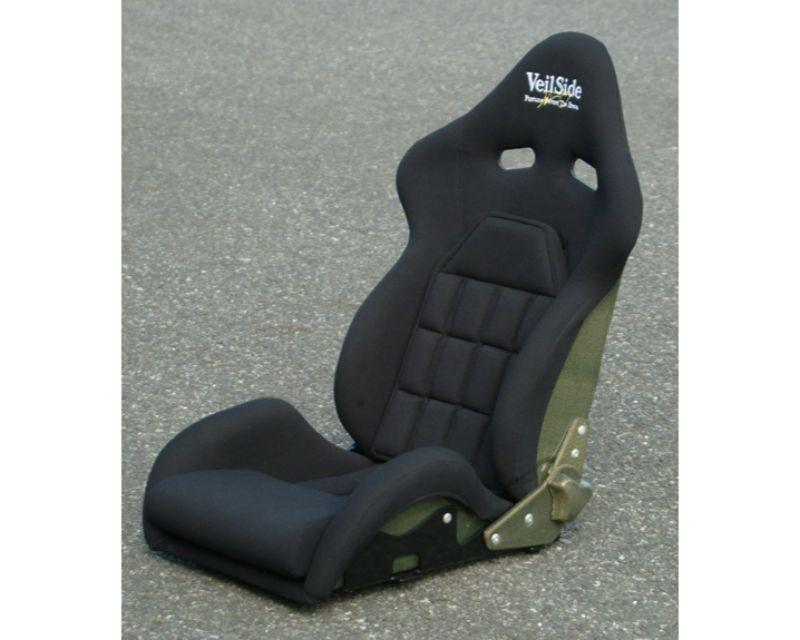 VeilSide VS D-1R Narrow Carbon Reclining Racing Seat Black/Black
