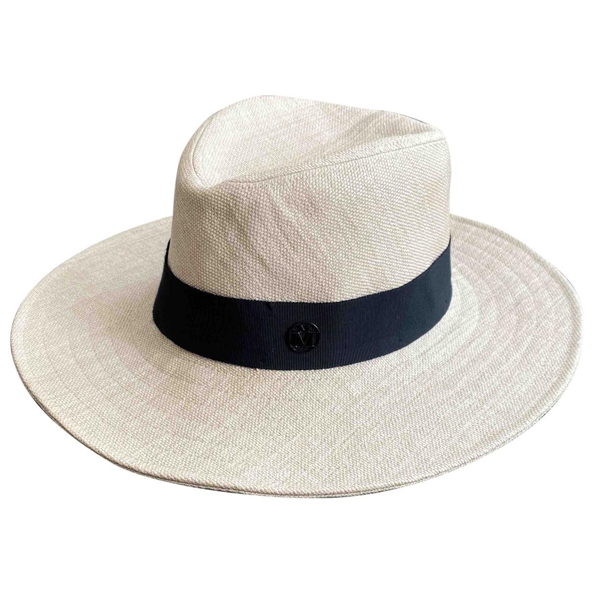 Maison Michel \N Beige Wicker hat for Women M International