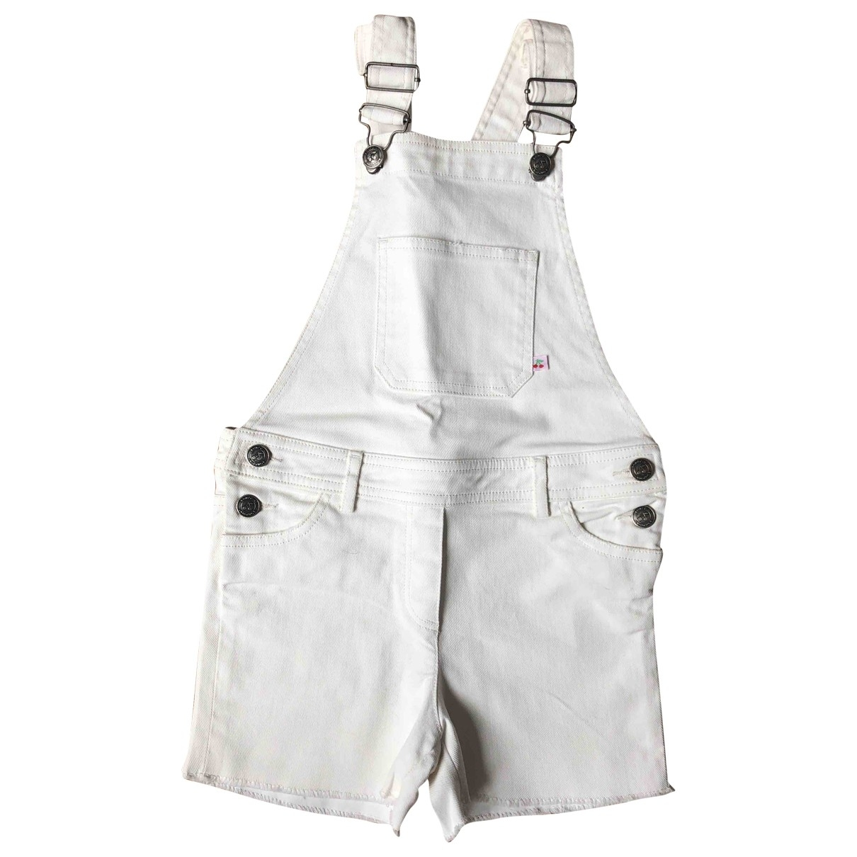 Bonpoint \N White Cotton Shorts for Kids 8 years - up to 128cm FR
