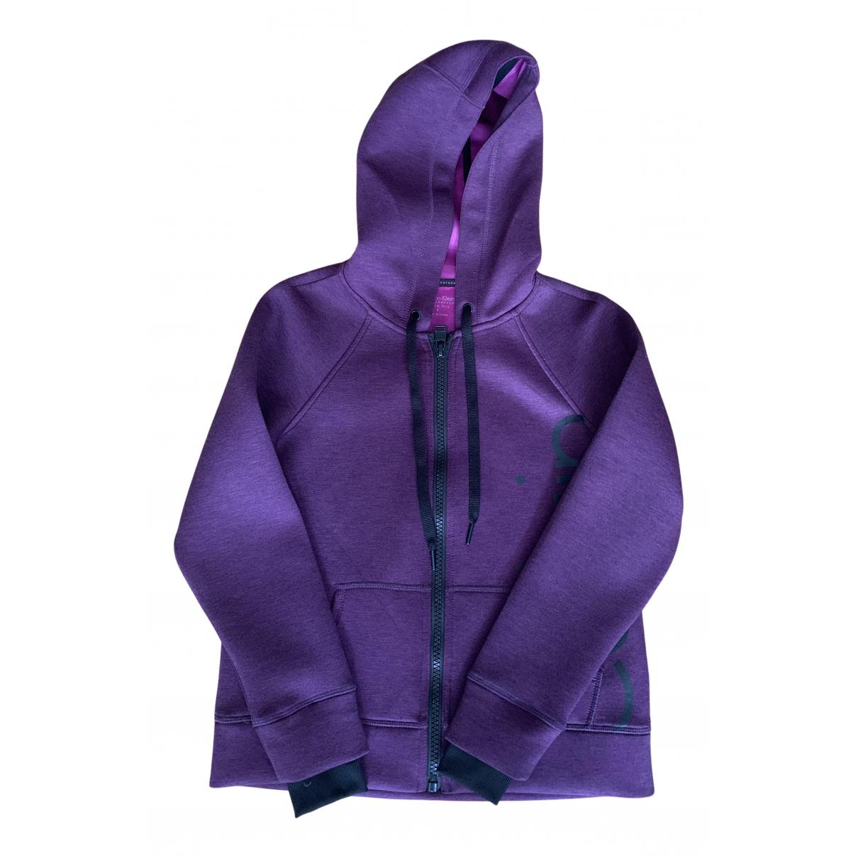 Calvin Klein - Veste   pour femme - violet