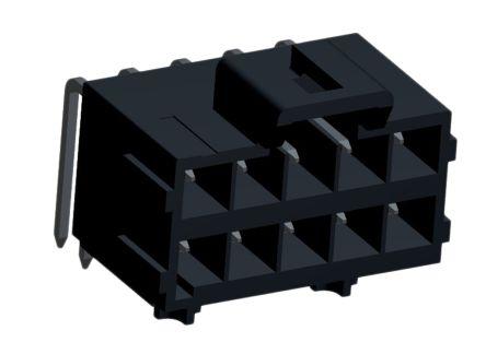 Molex , Ultra-Fit, 172316, 10 Way, 2 Row, Right Angle PCB Header (2)