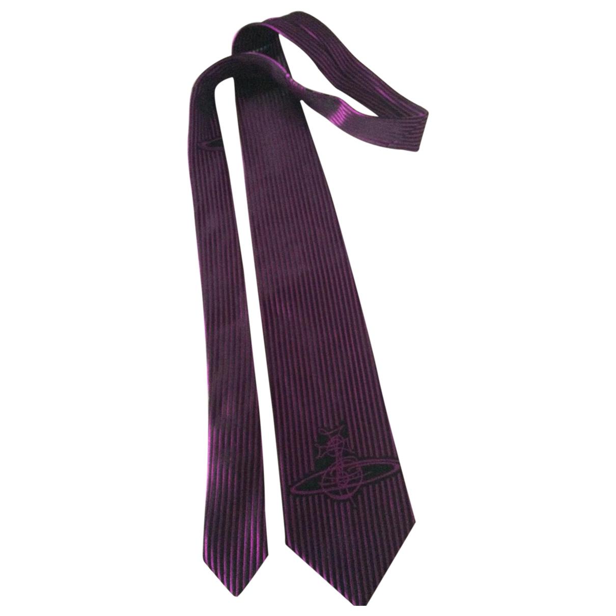 Corbata de Seda Vivienne Westwood
