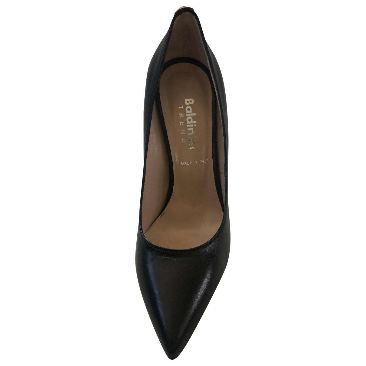 Baldinini - Escarpins   pour femme en cuir - noir