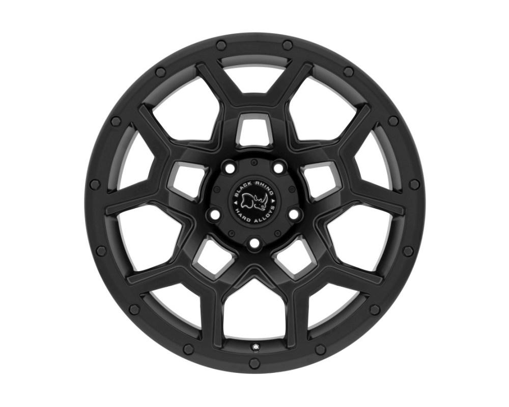 Black Rhino Overland Matte Black Wheel 20x9.5 5x127|5x5 -18mm CB71.6