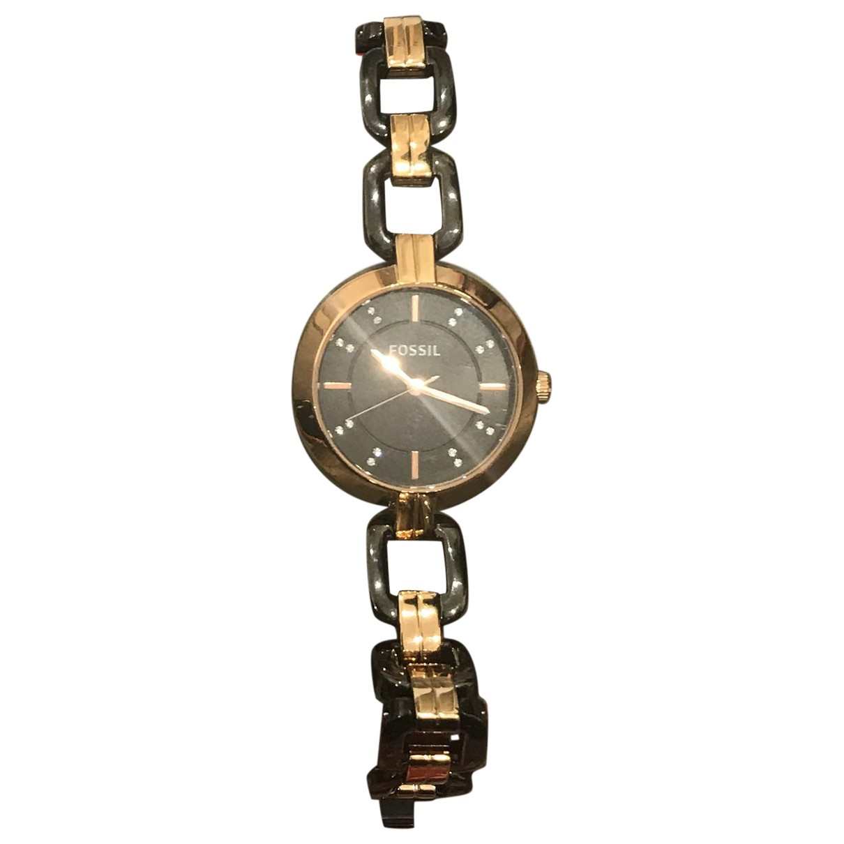 Fossil \N Steel watch for Women \N