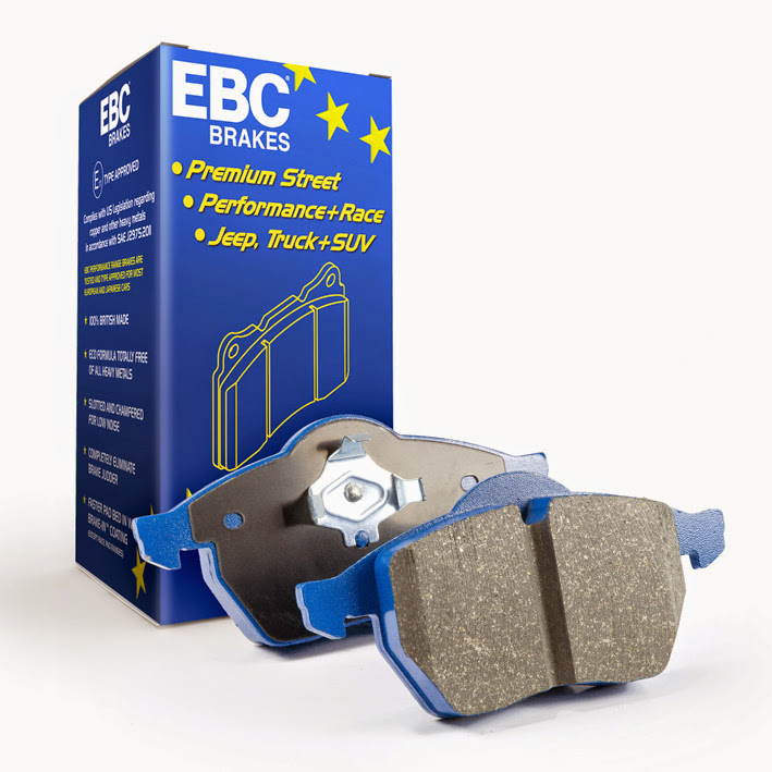 EBC Brakes DP52149NDX High friction sport and race pad where longevity and performance is a must. Ford 1.6L 4-Cyl