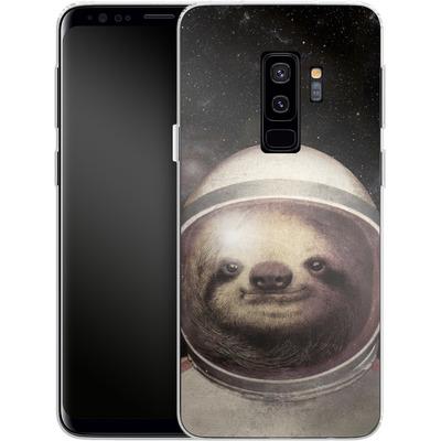 Samsung Galaxy S9 Plus Silikon Handyhuelle - Space Sloth von Eric Fan