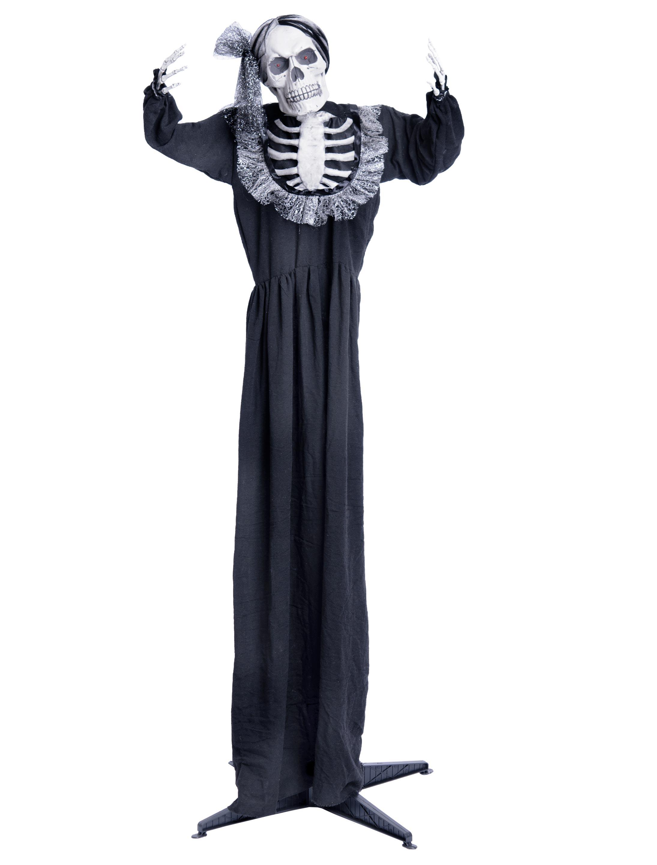 Braut Skelett stehend mit Funktion Farbe: schwarz