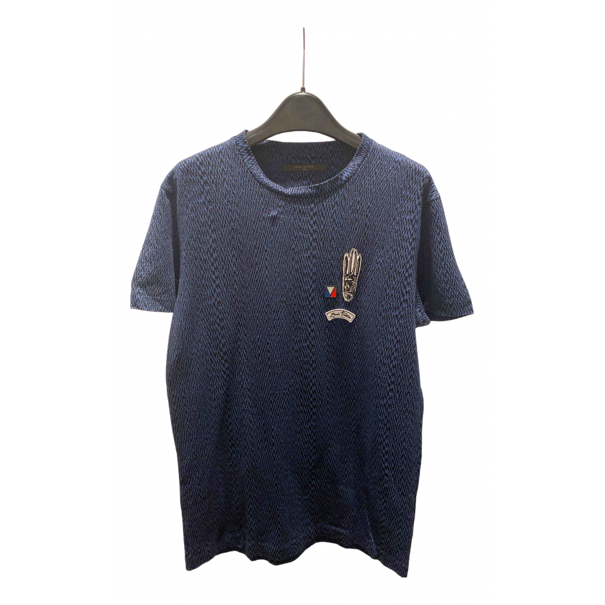 Louis Vuitton N Blue Cotton T-shirts for Men S International